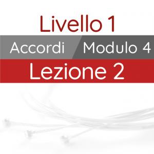 Corso di Chitarra Moderna - Livello 1 - Accordi - Accordi di m7 in Posizione Aperta e Mobile