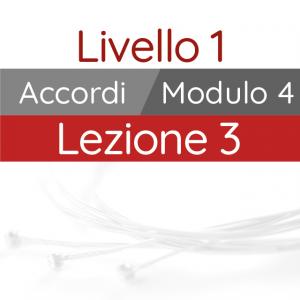 Corso di Chitarra Moderna - Livello 1 - Accordi - Pennata Ritmica - Sincope in Sedicesimi