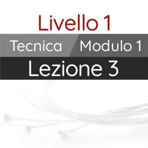 Corso di Chitarra Moderna - Livello 1 - Tecnica - Pennata Alternata: Combinazioni a 3 dita