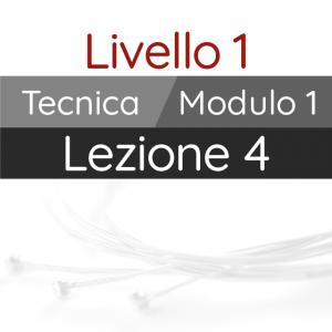 Corso di Chitarra Moderna - Livello 1 - Tecnica - Pennata Alternata: Combinazioni a 4 dita