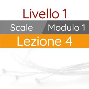 Corso di Chitarra Moderna - Livello 1 - Scale - Scala Pentatonica - Incrociamenti