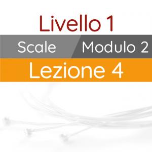 Corso di Chitarra Moderna - Livello 1 - Scale - Scala Maggiore - Gruppi di Quartine
